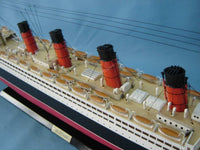 My Parlor Room - RMS Mauretania Limited Model Cruise Ship 40 inch w/ LED Lights - My Parlor Room