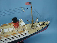 My Parlor Room - RMS Mauretania with LED Lights Limited Model Cruise Ship 30 inch - My Parlor Room