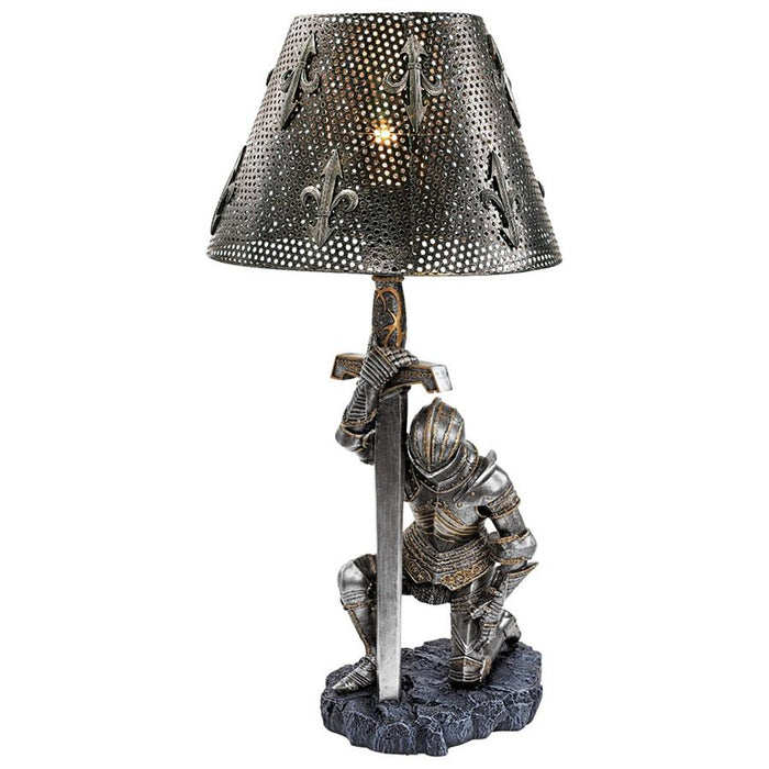 At Battle's End Sculptural Lamp - My Parlor Room
