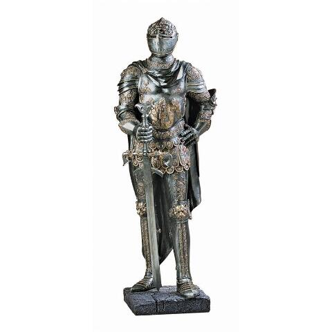The King's Guard Sculptural Half-Scale Knight Replica - My Parlor Room