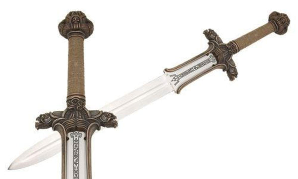 Swords from Spain - Conan the Barbarian Atlantean Sword by Marto of Toledo Spain (Bronze) - Official Licensed Reproduction - My Parlor Room