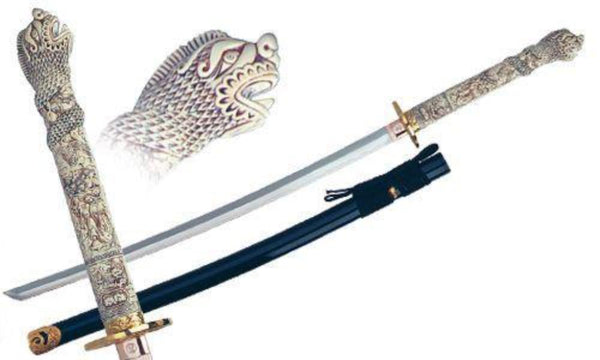 Swords from Spain - Highlander Connor Katana by Marto of Toledo Spain - My Parlor Room
