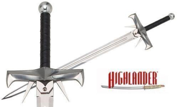 Swords from Spain - Highlander Kurgan Sword by Marto of Toledo Spain - My Parlor Room
