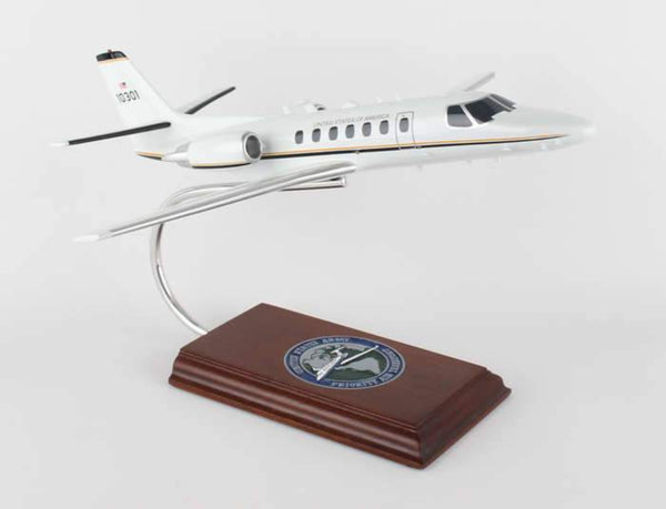 DW - CESSNA CITATION ENCORE USAF DISPLAY AIRCRAFT 1/40 - My Parlor Room