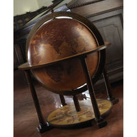 "MPR - Gea Classic Large Bar Globe ""Virgo"" - My Parlor Room"