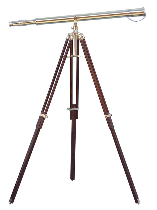 Floor Standing Brass Galileo Telescope 62 inch