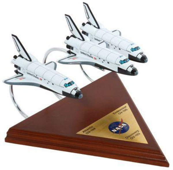 Executive Series - SPACE SHUTTLE (3 ACTIVE) COLLECTION 1/200 - My Parlor Room