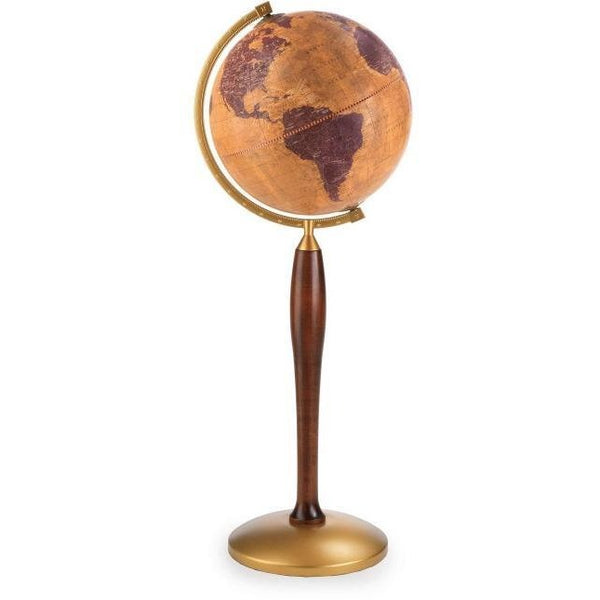 "Zoffoli - Floorstanding ClassicGea Globe On Metal Pressed Base ""Pisces"" - My Parlor Room"