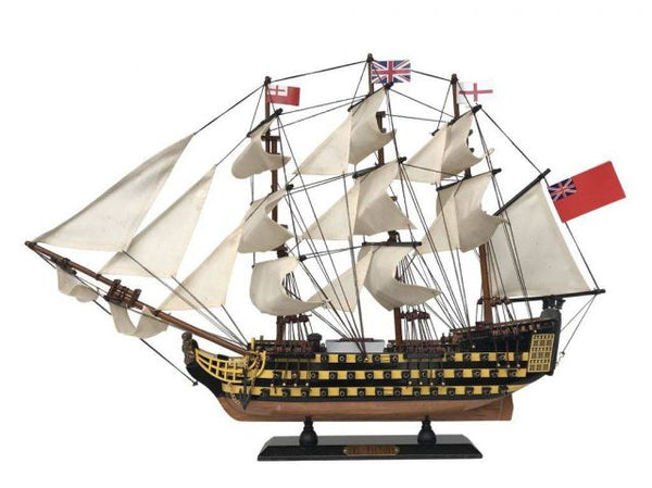 "My Parlor Room - Wooden HMS Victory Limited Tall Model Ship 24"" - My Parlor Room"