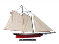 My Parlor Room - Wooden America Model Sailboat Decoration 50 inch - My Parlor Room
