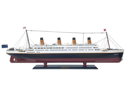 RMS Titanic Model Cruise Ship 40 inch - My Parlor Room