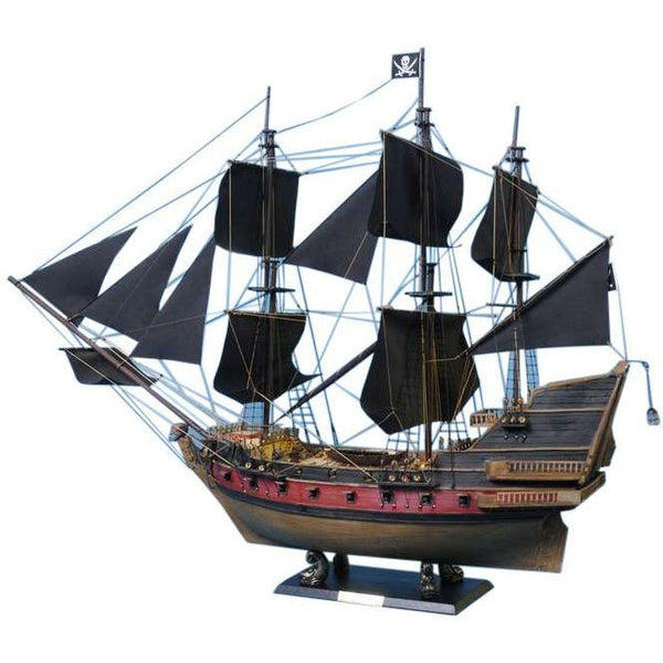 My Parlor Room - Calico Jack's The William Limited Model Pirate Ship 24 inch Black Sails - My Parlor Room