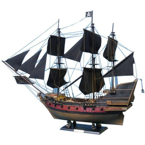 Model Ships - Calico Jack's The William Limited Model Pirate Ship 24 Inch Black Sails