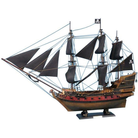 Model Ships - Captain Kidd's Adventure Galley Limited Model Pirate Ship 24 Inch Black Sails