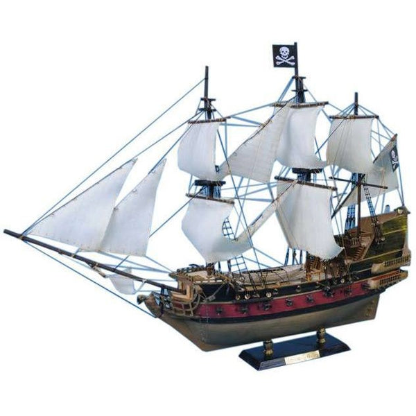 My Parlor Room - Captain Kidd's Adventure Galley Limited Model Pirate Ship 24 inch White Sails - My Parlor Room