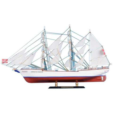 Model Ships - Christian Radich Limited Tall Model Ship 21 Inch