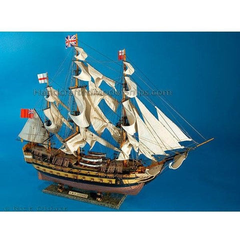 Model Ships - HMS Leopard Limited Tall Model Ship 36 Inch