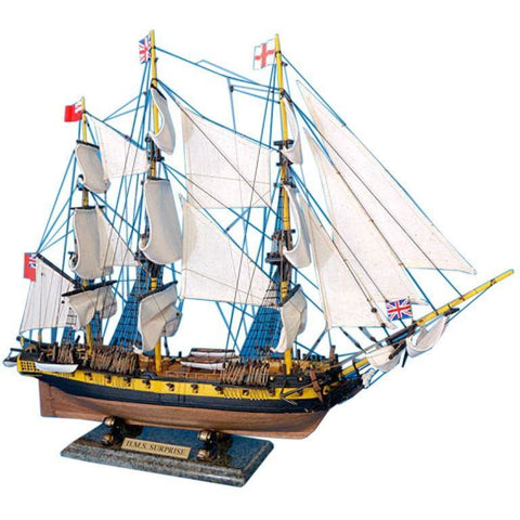 Model Ships - Master And Commander HMS Surprise Tall Model Ship 30 Inch