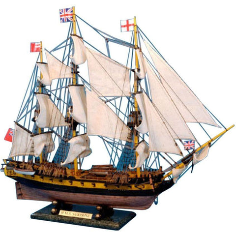 Model Ships - Master And Commander HMS Surprise Tall Model Ship Limited 30 Inch