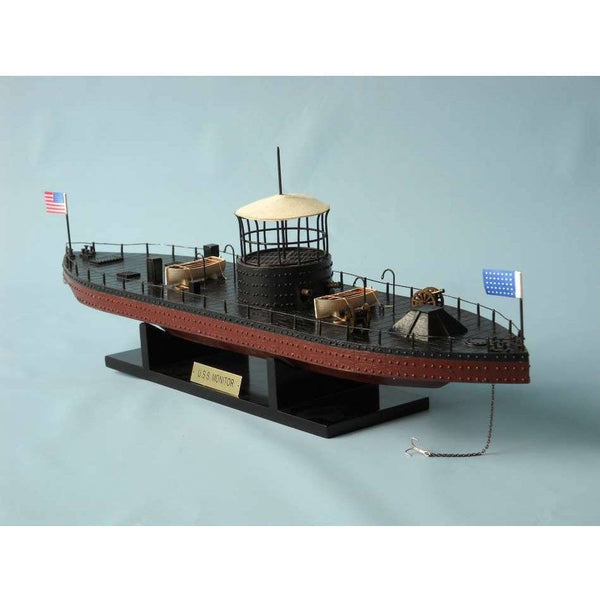 My Parlor Room - Monitor Limited Civil Warship Model 21 inch - My Parlor Room