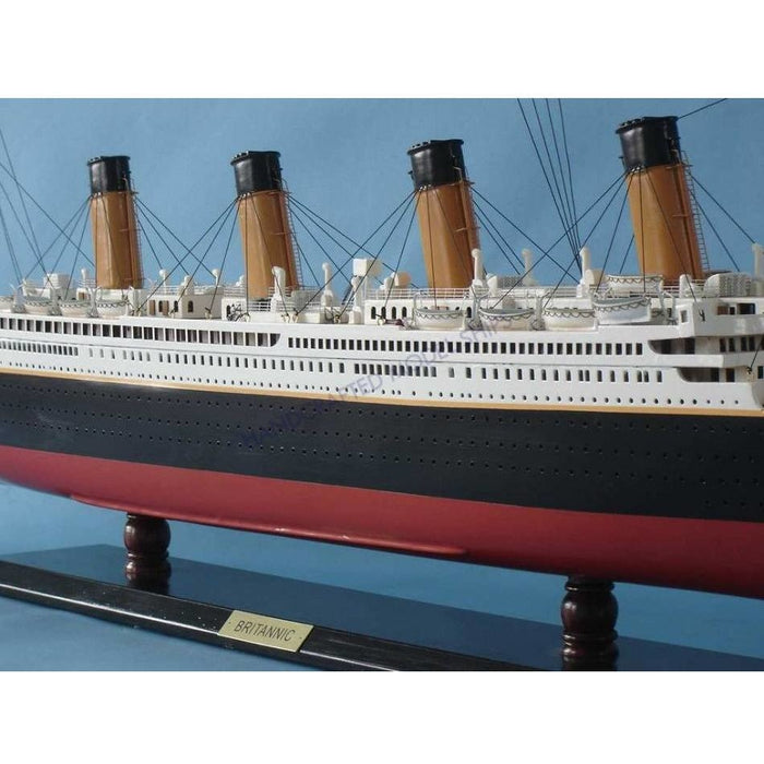 Model Ships - Ready To Run Remote Control RMS Britannic Limited 40 Inch