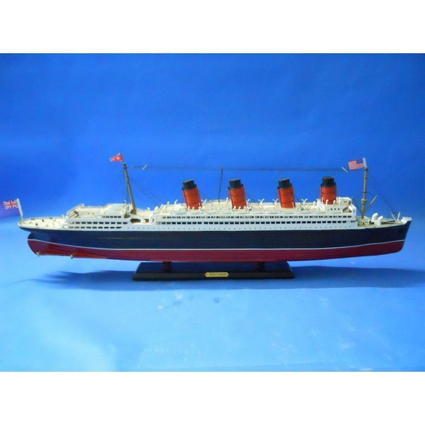 My Parlor Room - RMS Aquitania Limited Model Cruise Ship 30 inch - My Parlor Room