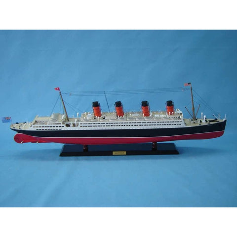 Model Ships - RMS Aquitania Limited Model Cruise Ship 40 Inch