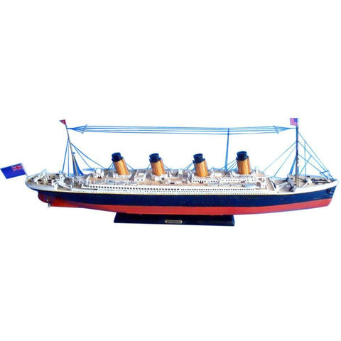Model Ships - RMS Britannic Limited 30 Inch Model Cruise Ship