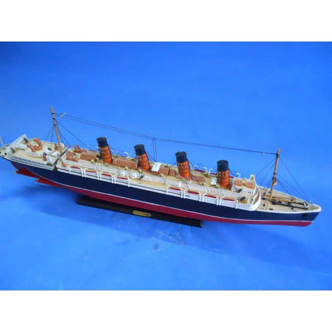 Model Ships - RMS Lusitania Limited Model Cruise Ship 30 Inch