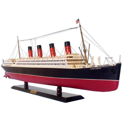 Model Ships - RMS Lusitania Limited Model Cruise Ship 40 Inch