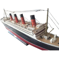 My Parlor Room - RMS Mauretania Limited Model Cruise Ship 30 inch - My Parlor Room