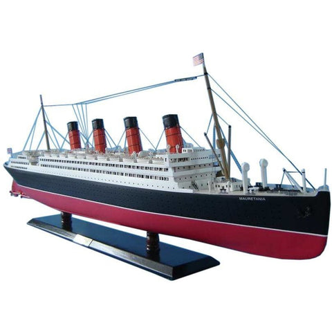 Model Ships - RMS Mauretania Limited Model Cruise Ship 40 Inch