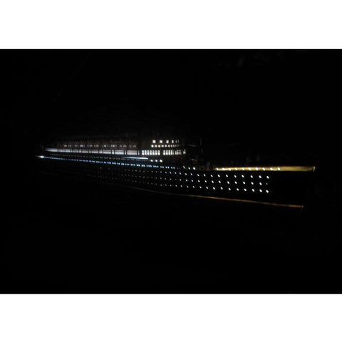 Model Ships - RMS Mauretania Limited Model Cruise Ship 40 Inch W/ LED Lights