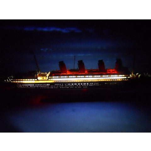 Model Ships - RMS Mauretania With LED Lights Limited Model Cruise Ship 30 Inch
