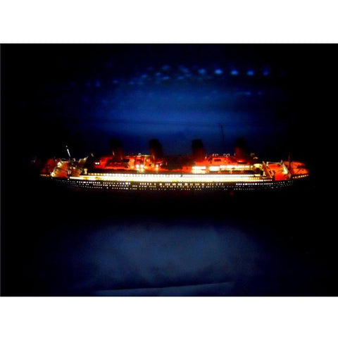 Model Ships - RMS Olympic Limited 30 Inch W/ LED Lights Model Cruise Ship
