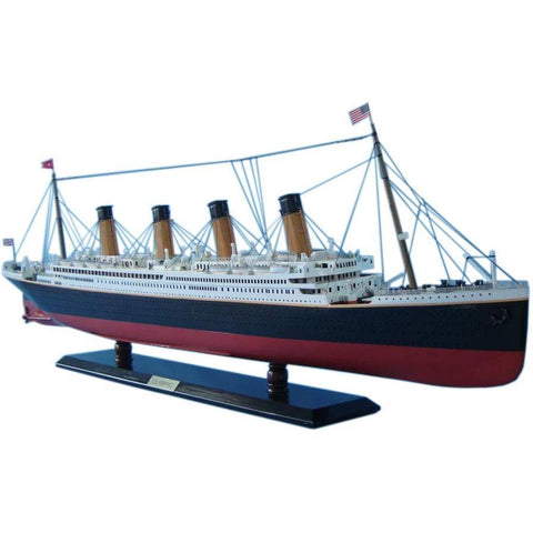 Model Ships - RMS Olympic Limited Model Cruise Ship 40 Inch W/ LED Lights
