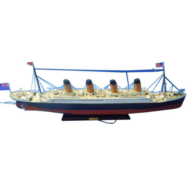 My Parlor Room - RMS Titanic Limited Model Cruise Ship 30 inch - My Parlor Room