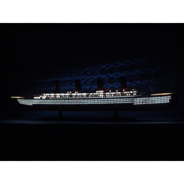 My Parlor Room - SS United States Limited Model Cruise Ship 40 inch w/ LED Lights - My Parlor Room