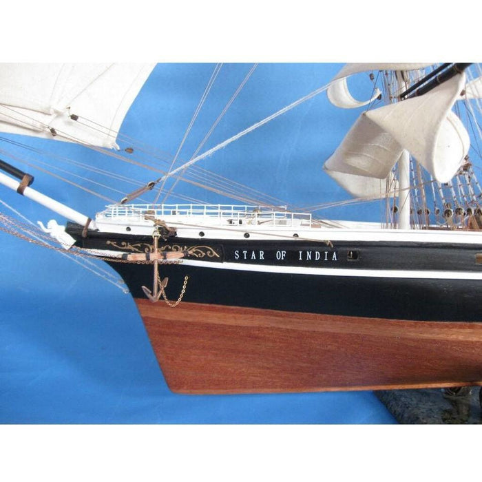Handcrafted Nautical Decor Star Of India Limited Tall Model Ship