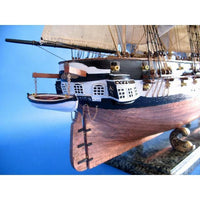 My Parlor Room - USS Constellation Limited Tall Model Ship 37 inch - My Parlor Room
