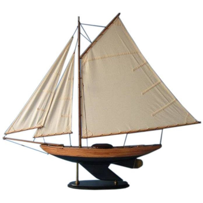 Model Ships - Wooden Admiral's Sloop Decoration 40 Inch