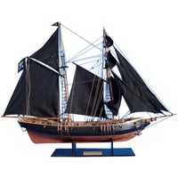 My Parlor Room - Wooden Ben Franklin's Black Prince Limited Model Ship 24 inch - My Parlor Room