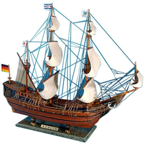Model Ships - Wooden Berlin Tall Model Ship 30 Inch
