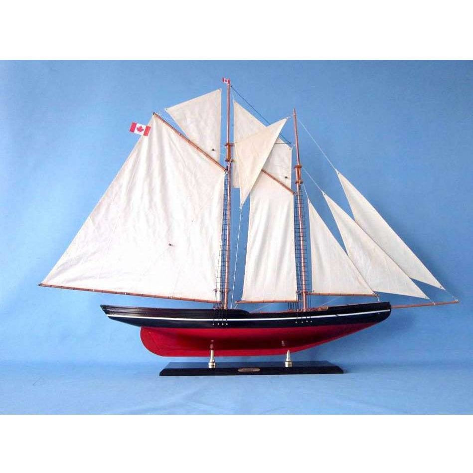 Wooden Bluenose 2 Model Sailboat Decoration 50 inch