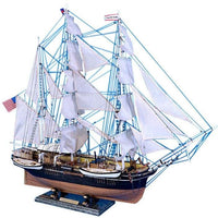 My Parlor Room - Wooden Charles W. Morgan Limited Model Whaling Boat 32 inch - My Parlor Room