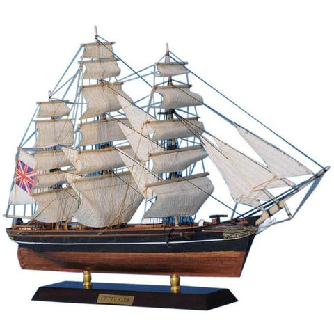 Model Ships - Wooden Cutty Sark Limited Tall Model Clipper Ship 20 Inch