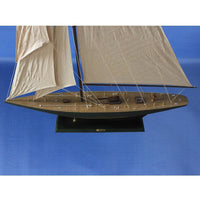My Parlor Room - Wooden Endeavour Model Sailboat Decoration 60 inch - My Parlor Room