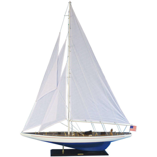 Model Ships - Wooden Enterprise Model Sailboat Decoration 60 Inch