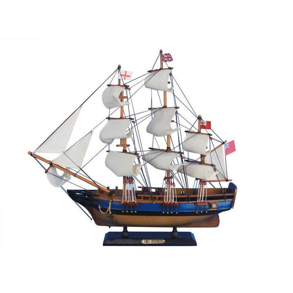 My Parlor Room - Wooden HMS Bounty Tall Model Ship 20 inch - My Parlor Room