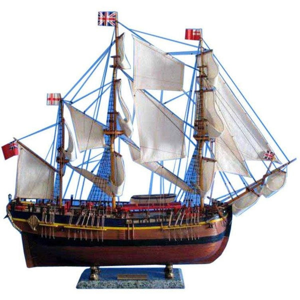 My Parlor Room - Wooden HMS Endeavour Limited Model Ship 30 inch - My Parlor Room
